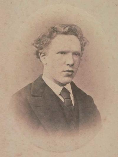 Foto van de jonge Vincent van Gogh