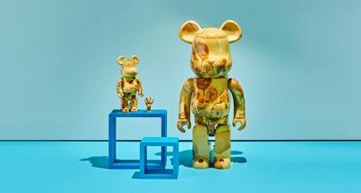 BE@RBRICK sunflower Japans bedrijf Medicom Toy Inc, limited-edition beren