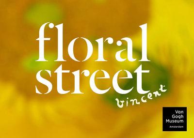 Logo Floral Street x Musée Van Gogh