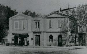 foto van het Gele Huis in Arles