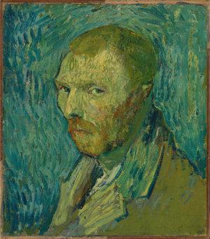 Vincent van Gogh, Zelfportret, 1889, Nasjonalmuseet for kunst, arkitektur og design, Oslo, foto: Anne Hansteen