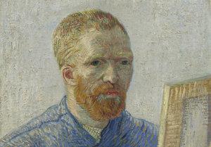 Vincent van Gogh, Zelfportret als schilder, 1887-1888