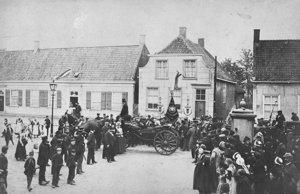 Foto van het geboortehuis van Vincent van Gogh