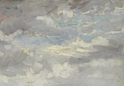 Vincent van Gogh, Gezicht op Parijs, 1886