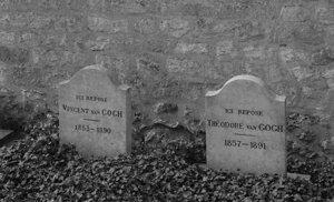 De laatste rustplaats van Vincent en Theo in Auvers-sur-Oise