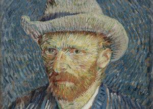 Vincent van Gogh, Zelfportret met grijze vilthoed, 1887, Van Gogh Museum Amsterdam (Vincent van Gogh Stichting)